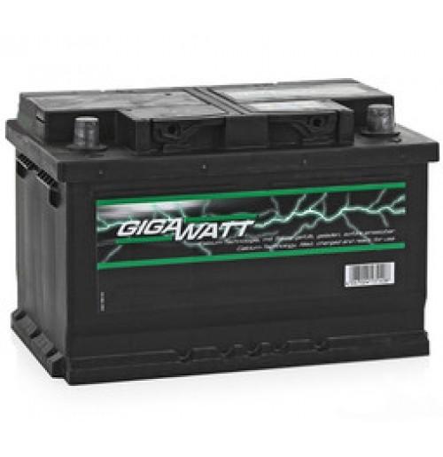 Gigawatt 56 Ah, 12V, L+